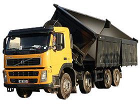 Comanda Transporturi produse de balastieră cu autobasculante