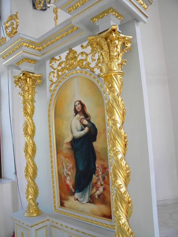 Comanda Iconostas Biserica Grecocatolica Sfanta Maria