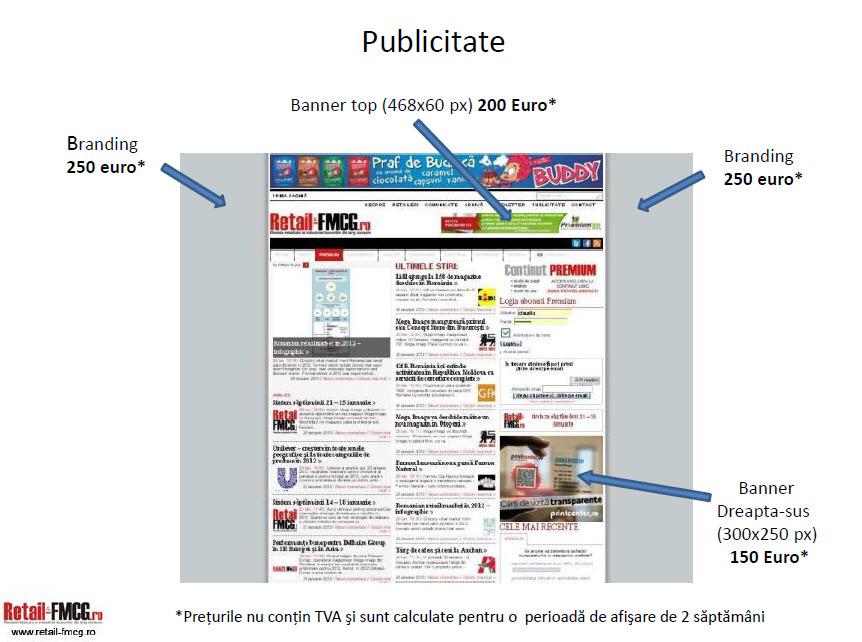 Comanda Publicitate online