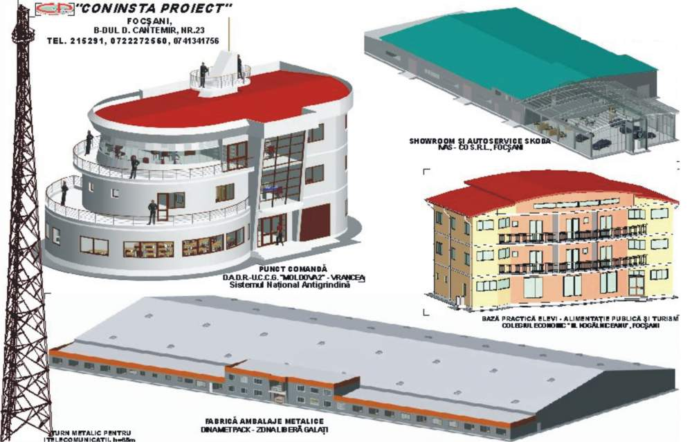 Comanda Proiectare case rezistente seismic cu structura metalica