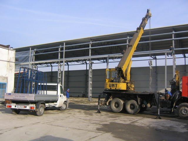 Comanda Constructii hale industriale