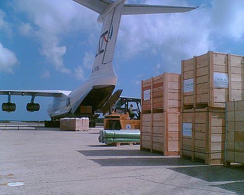 Comanda Transport aerian de marfa