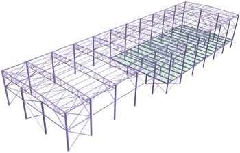 Comanda Proiectare structura metalica