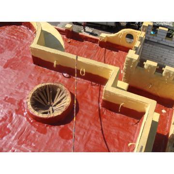 Comanda Hidroizolatie cu spuma poliuretanica - acoperis casa
