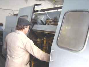 Comanda Capacități prelucrări mecanice