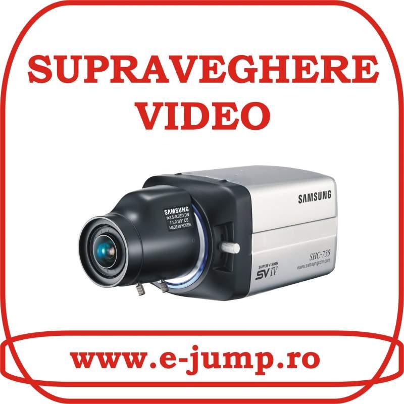 Comanda Proiectare si instalare sisteme de supraveghere video