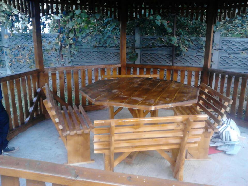 Comanda Filigorii lemn, pavilion lemn, foisor lemn