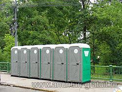 Comanda Societatea TOALETE ECOLOGICE desfasoara activitatea de inchiriere si intretinere toalete ecologice in toata tara.