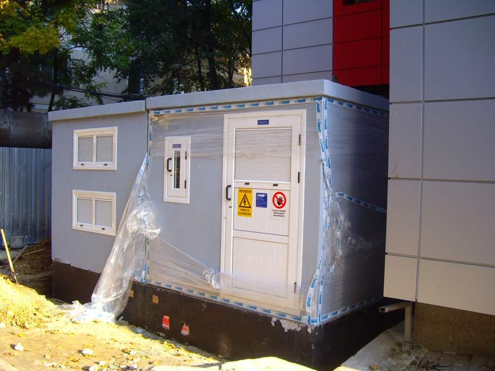 Comanda Alimentare cu energie electrica Statie de climatizare centralizata