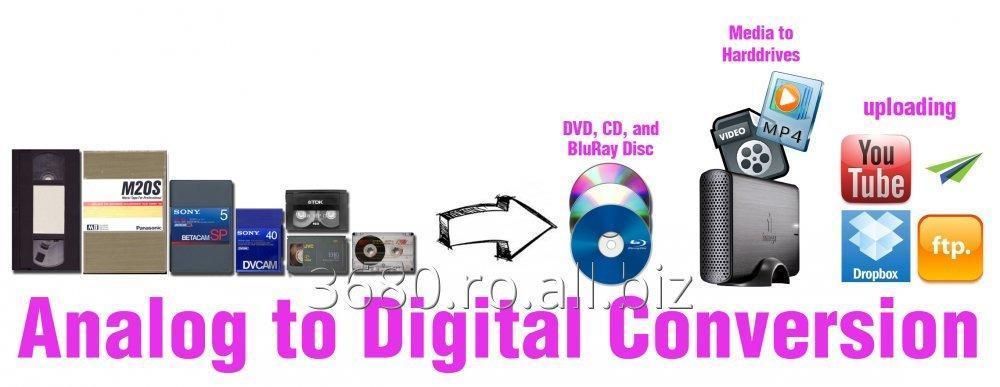 Comanda Transferam orice tip de caseta video pe DVD