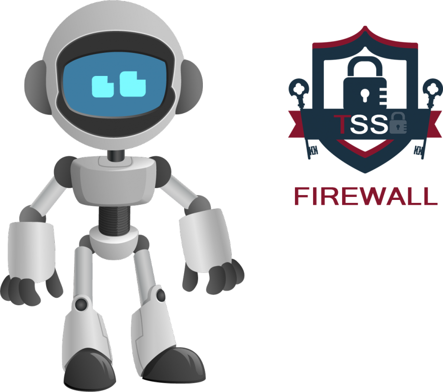Comanda Securitate Online - TSS Firewall