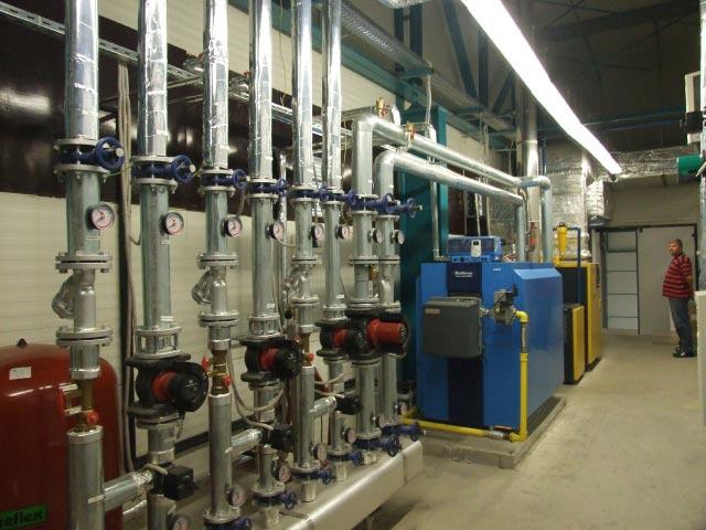 Comanda Executie instalatii termice civile si industriale