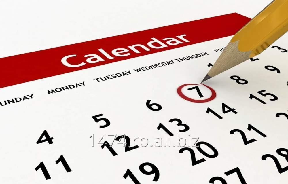 Comanda Calendare