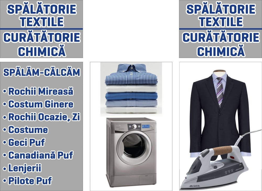 Curatatorie chimica --Spalatorie textile--CONCEPT BLUE
