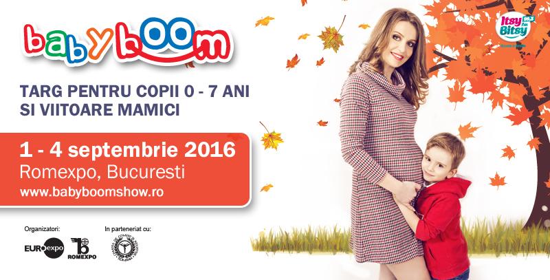 Comanda Baby Boom Show – expozitie internationala dedicata mamei si copilului