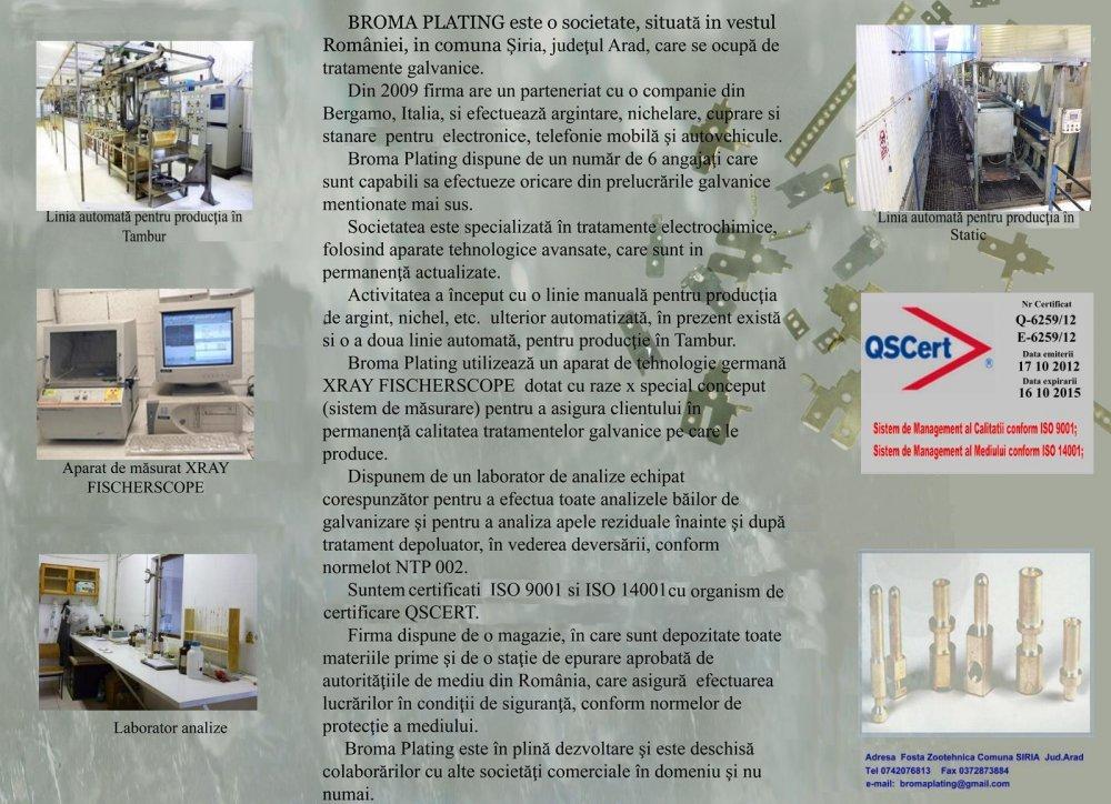 Comanda Nichelare chimica , nichelare , cuprare , argintare , fosforo