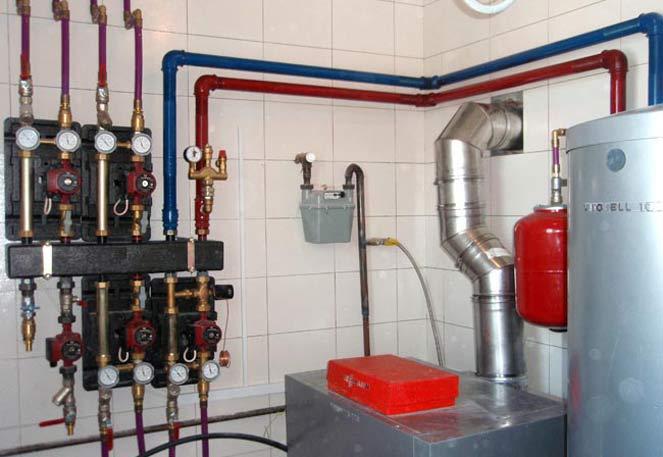 Comanda Retele termice (abur, apa fierbinte) si tehnologice