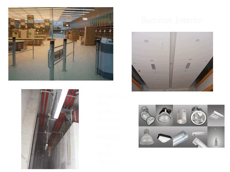 Comanda Instalatii de iluminat interior