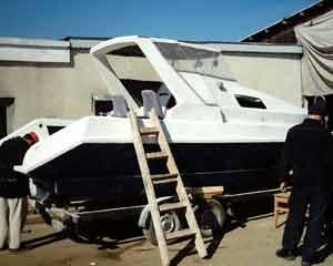Comanda Reparatii capitale si partiale la salupe si barci