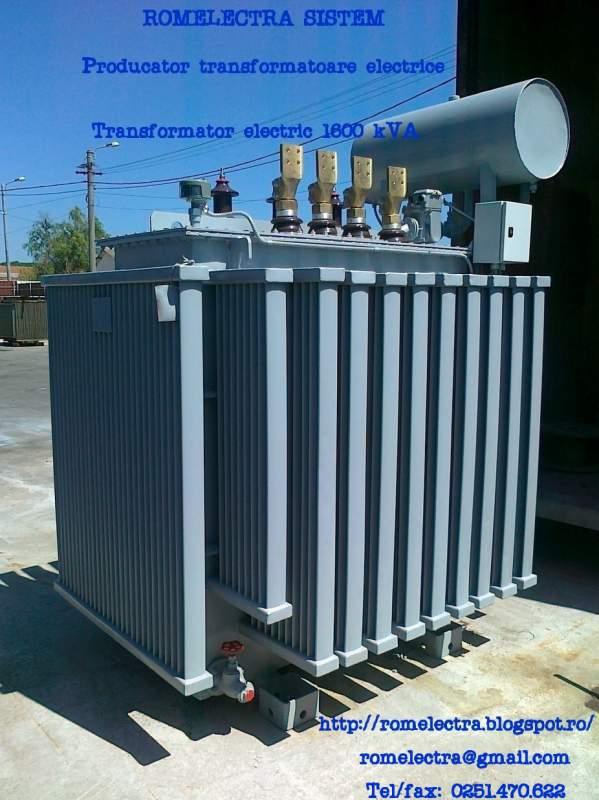 Comanda Reparatii transformatoare electrice in ulei si transformatoare uscate