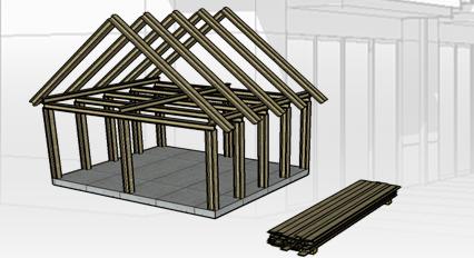 Comanda Tâmplărie din lemn pentru construcţii
