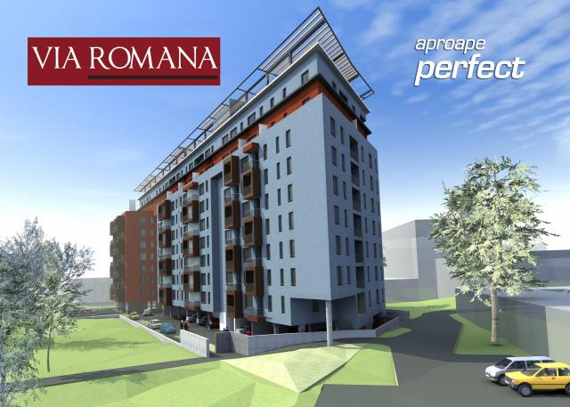 Comanda Ansamblu rezidential Via Romana (Arad)