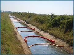 Lucrari de decontaminare / ecologizare cursuri de ape poluate cu produse petroliere