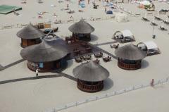 Constructii pe plaja