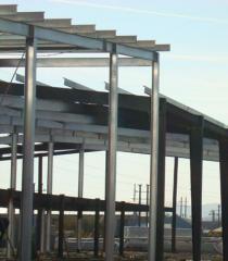 Constructii metalice si structuri metalice pentru hale industriale.