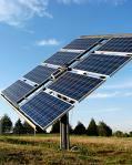 Montare de sistem de incălzire solară de apă
