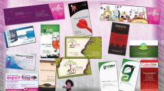 Servicii de design grafic- Carti de vizita