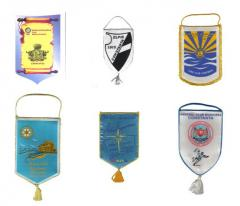 Inscriptionari textile - Fanioane
