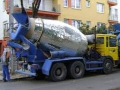 Transport beton