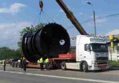 Transport agabaritic de marfa