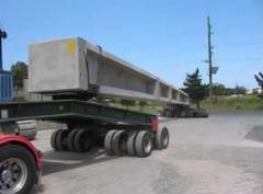 Transport prefabricate din beton