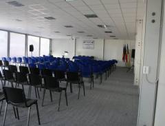 Inchirierea salii de conferinte din incinta complexului expozitional