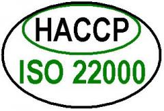 HACCP / ISO 22000 - servicii de implementare si auditareHACCP / ISO 22000 - servicii de implementare si auditare