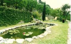 Amenajare de grădină cu pietre
