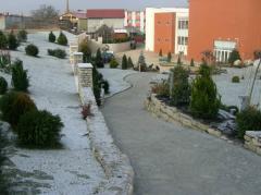 Amenajare de gradini cu Piatra Naturala de Vistea