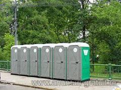 Societatea TOALETE ECOLOGICE desfasoara activitatea de inchiriere si intretinere toalete ecologice in toata tara.