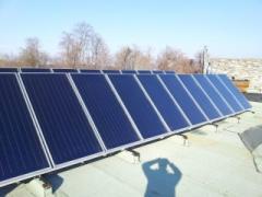 Montaj de instalatii cu panouri solare