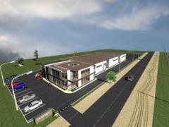 Constructie de hala industriala