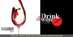 Targ de vinuri, bauturi alcoolice si non-alcoolice    Expo Drink & Wine