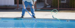 Cleaning of the pools