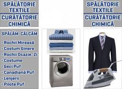 Curatatorie chimica --Spalatorie textile--CONCEPT BLUE