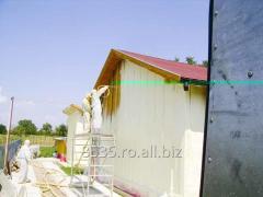 Izolatie pereti cu spuma poliuretanica