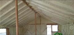 Izolatie acoperis cu spuma poliuretanica