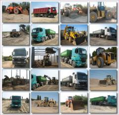 Echipament pentru lucrari de excavatii