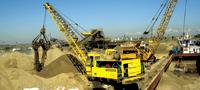 Servicii de inchiriere de echipament pentru constructii navale, spatii de depozitare, constructii hidrotehnice, dragaje