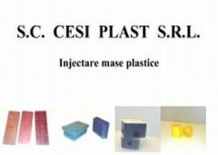 Productie piese din polietilena, polipropilena, polistiren, PVC plastifiat